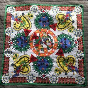 Moschino rare vintage cotton scarf/bandana